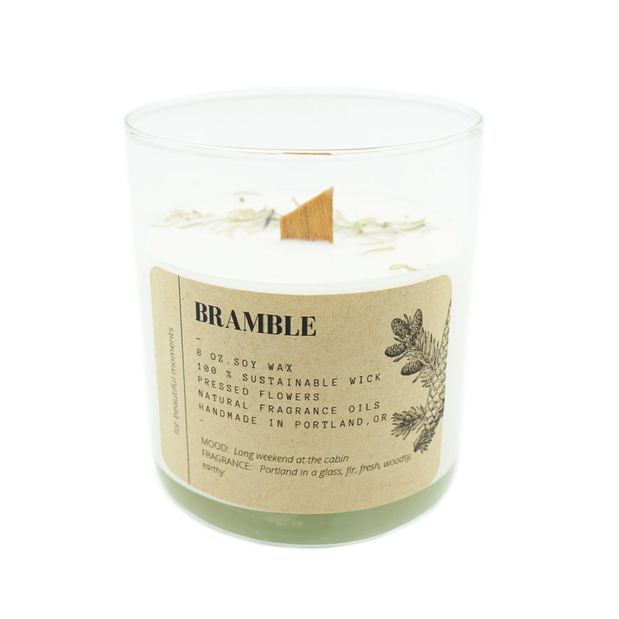 Tumbler Candle Ritual + Fancy Bramble