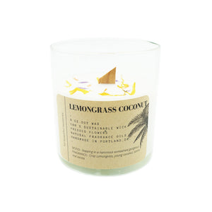 Tumbler Candle Ritual + Fancy Lemongrass Coconut