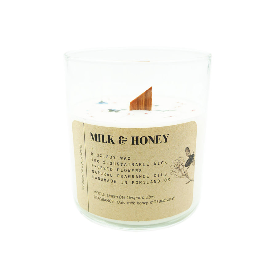 Tumbler Candle Ritual + Fancy Milk & Honey