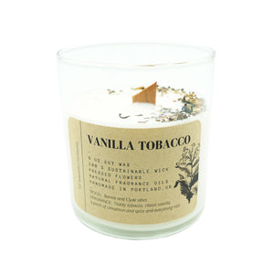 Tumbler Candle Ritual + Fancy Vanilla Tobacco