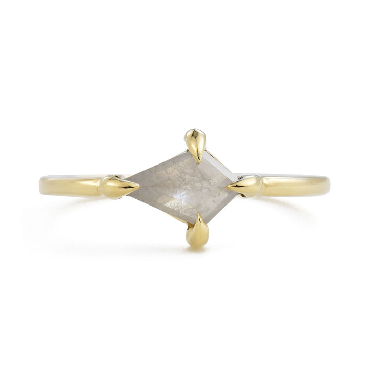Eva Silver Kite Diamond Ring by Valerie Madison