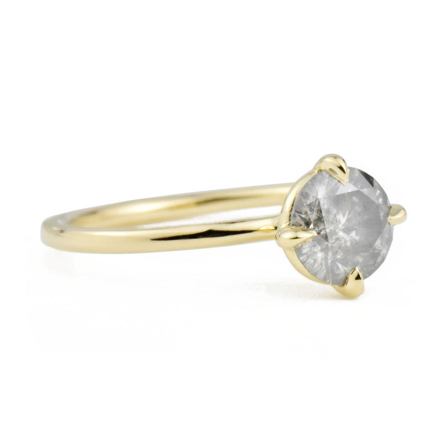 Vera S&P Diamond 14k Yellow Gold Ring by Valerie Madison