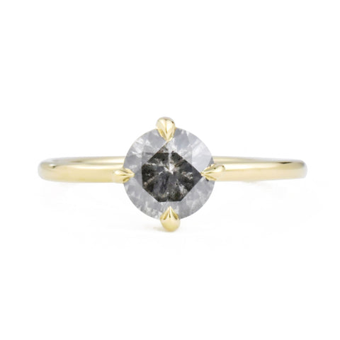 Vera S&P Diamond 14k Yellow Gold Ring