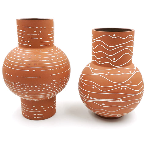 Large Ceramic Vases