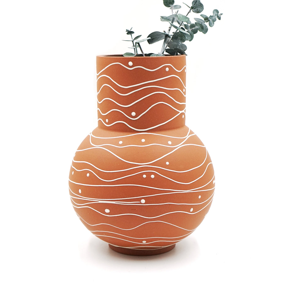 Large Ceramic Vases by Victoria Buchler Ceramics