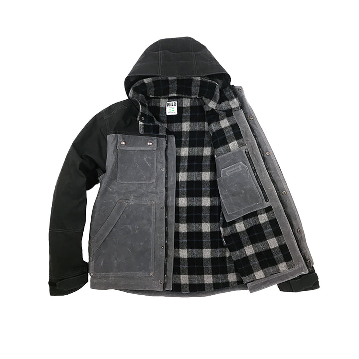 Electric Co. Parka Black Cement