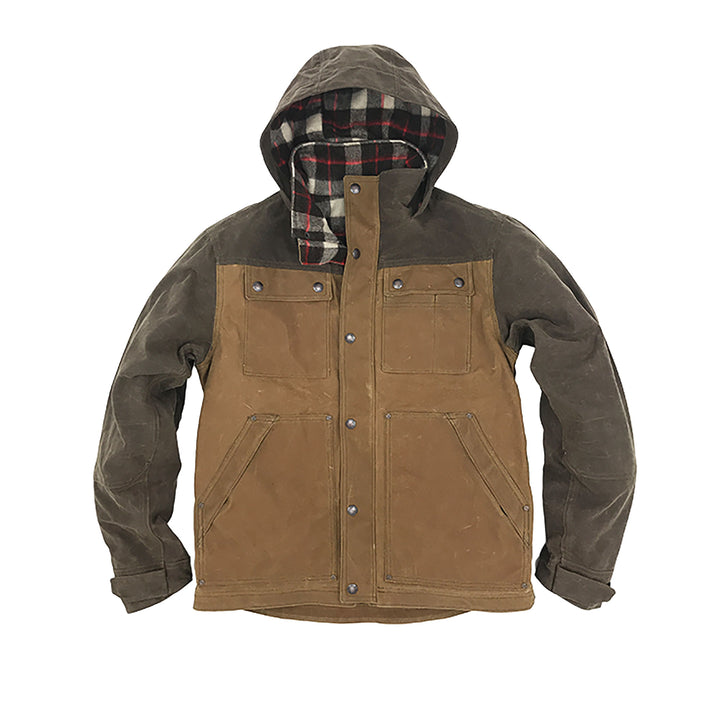 WILD Apparel Electric Co. Parka Field Tan + Oak