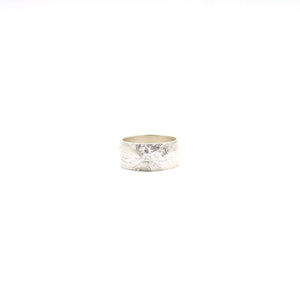 Mt. Hood Wide Silver Ring by Waaypoint