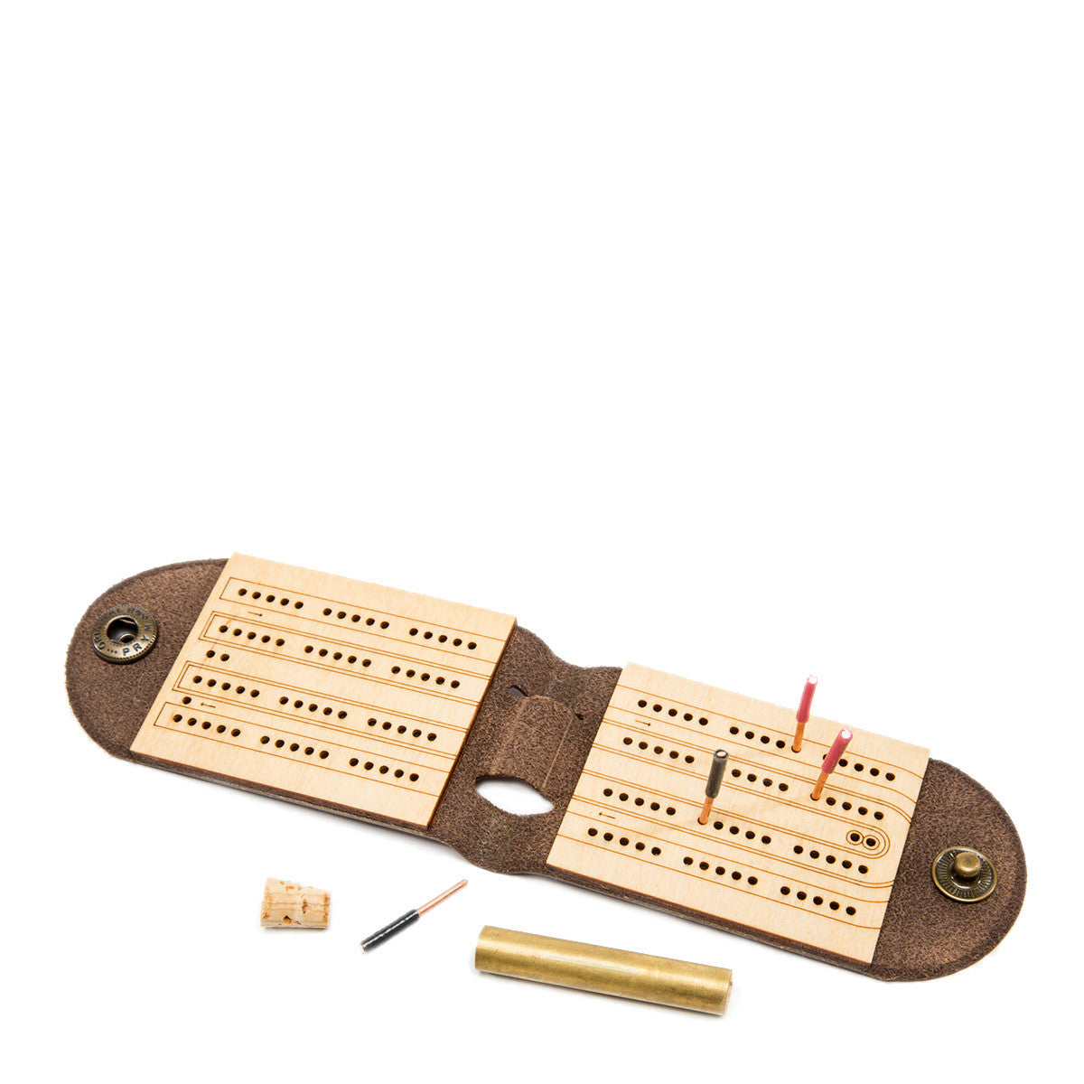 Travel Cribbage Board by Walnut Studiolo
