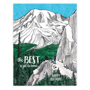 Best is Yet to Come Card by Waterknot