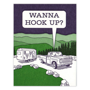 Wanna Hook Up Card by Waterknot