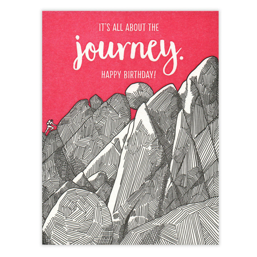 Journey Birthday Card Waterknot
