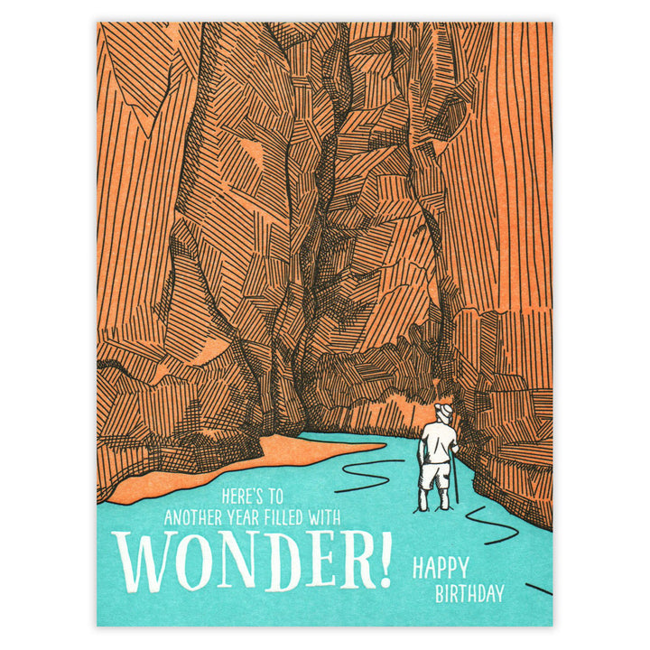 Wonder Birthday Card Waterknot