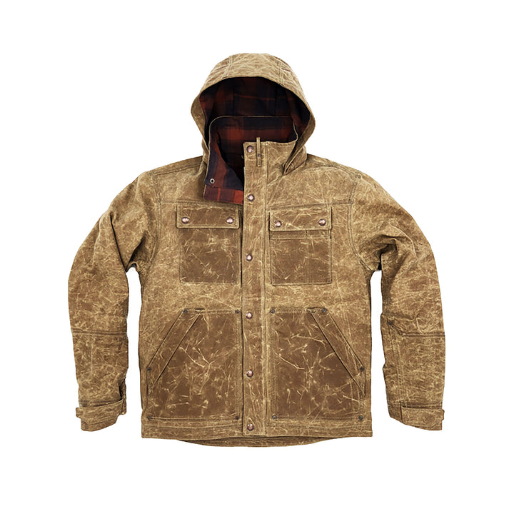 Tan Electric Co. Parka by WILD