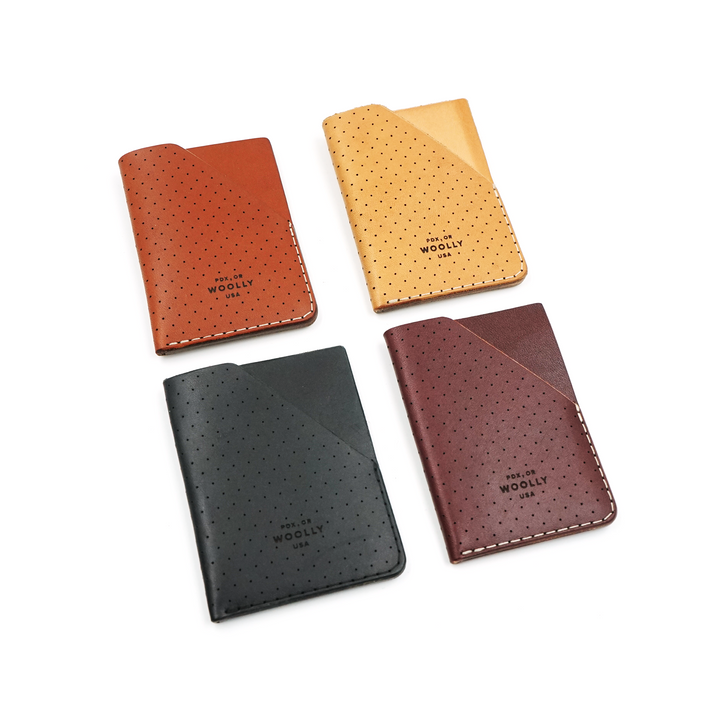 Woolly Sleeve Wallet Leather