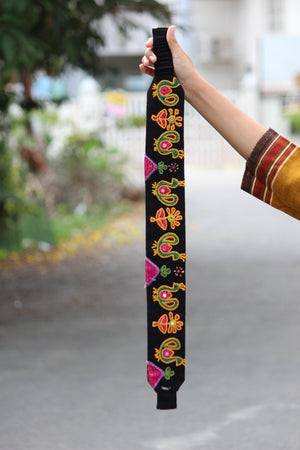 Mor Bagh Hand Embroidered Belt By Qurcha
