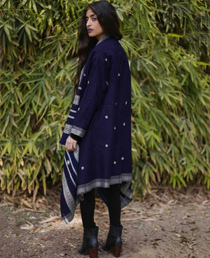 Kutch Handwoven Embroidered Tribal Jacket - Mogra Designs