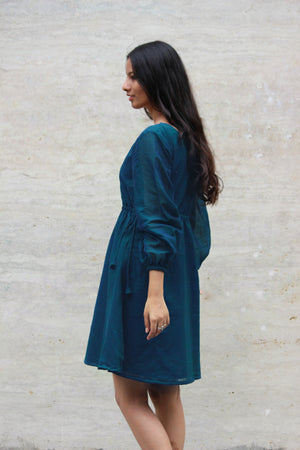 Jade Saree Dress