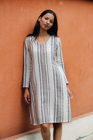 Kala cotton a-line dress