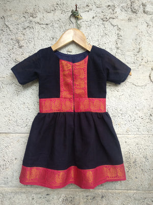 Kids Madurai Saree Dress by Mogra Designs