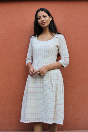 Kala Cotton Midi Dress