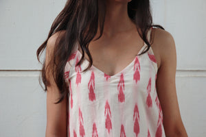 Cotton Candy Ikat Top
