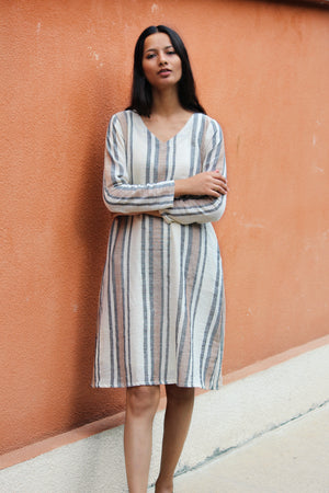 organic cotton relaxed fit and easy style dress