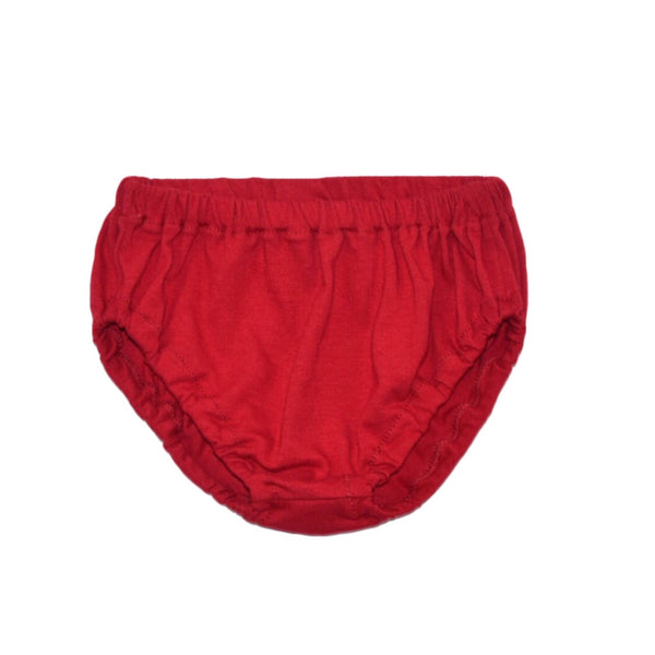 Cherry Red Knit Bloomers