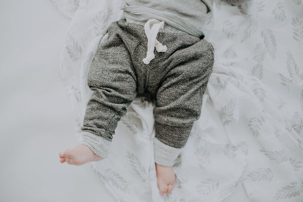 Cozy Grey French Terry Joggers