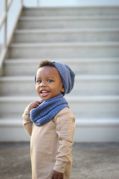 Blue Shimmer Infant/Toddler/Child Infinity Scarf