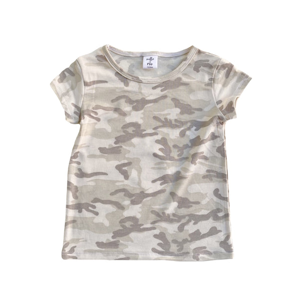 Arctic Camo Basic Tee - Short Sleeve