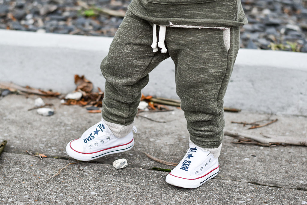 Kelp Slub French Terry Joggers