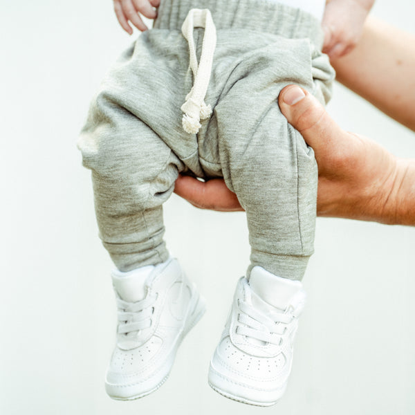 Heathered Olive French Terry Joggers