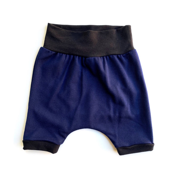 Royal Blue Harem Shorts