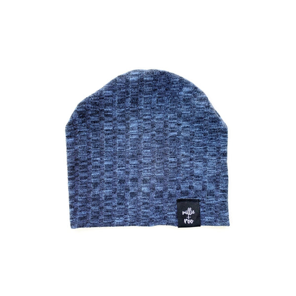 Blue Ice Sweater Rib Beanie
