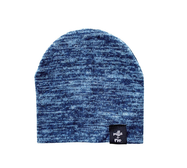 Blue Sweater Beanie