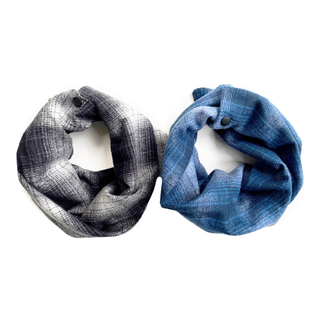 Winter Plaid Infant/Toddler/Child Infinity Scarf