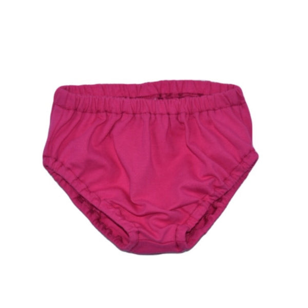 Strawberry Pink Solid Knit Bloomers