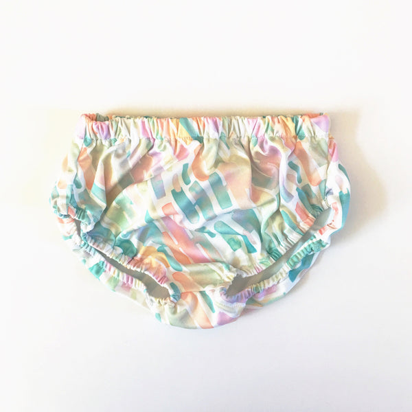 Pastel Watercolor Knit Bloomers