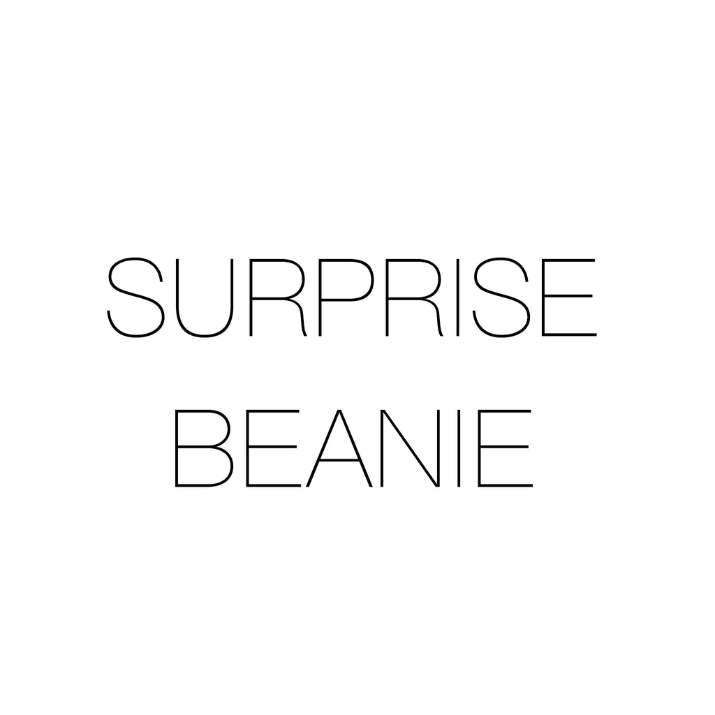 FREE Surprise Beanie with purchase of 2 other beanies