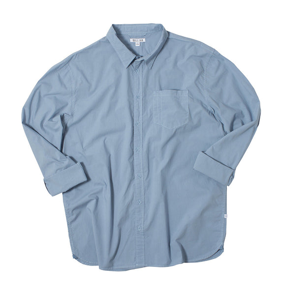 Light Blue Utility Shirt
