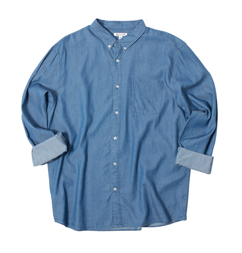 The Confident Classic - Light Chambray