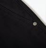 Black Twill Chino detail