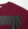 Claret Limited Run T-Shirt Detail