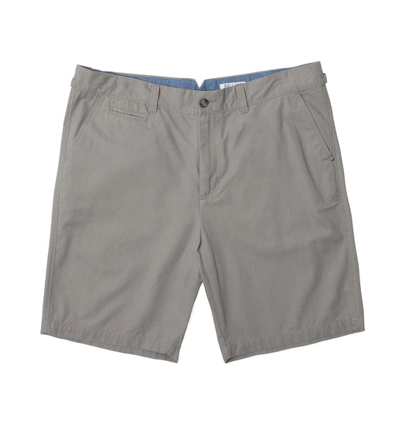The Chino Twill Short - Grey
