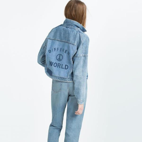 """I AM DENIM"" BLUE JACKET"