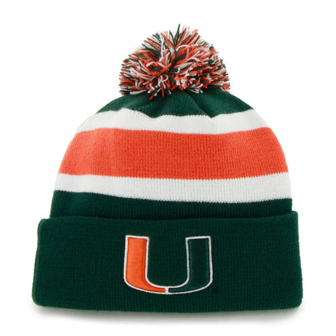 '47 University of Miami Hurricanes Breakaway Cuff Knit