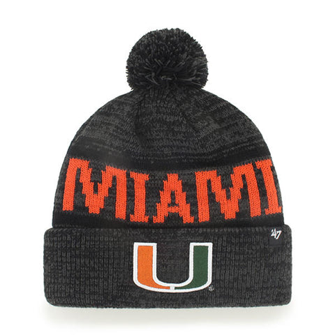 '47 University of Miami Hurricanes Northmont Cuff Knit