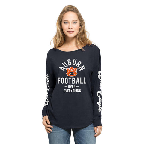 '47 Auburn Tigers Fall Navy Grace Long Sleeve Tee
