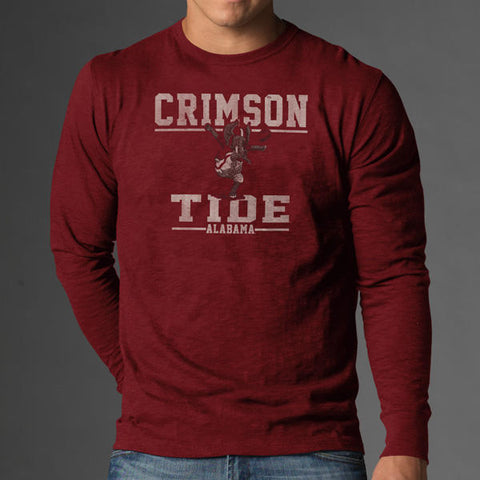 '47 Alabama Crimson Tide Long Sleeve Scrum Tee